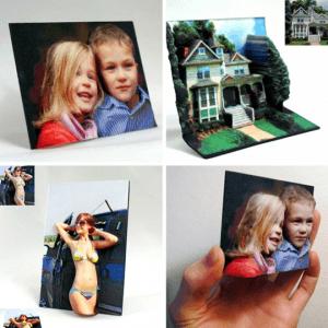 リアルで面白い!思い出を立体的に残す3D写真 - BumpyPhotos -