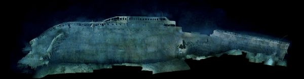 Real Photos of the the Titanic 100 Years Later