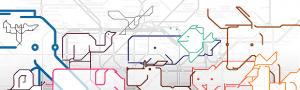 かわいい動物が地下鉄マップにかくれんぼ - Animals on the Underground -