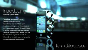 やられる前にやれ!不意に襲われても身も守れるiPhoneケース - knuckle case -