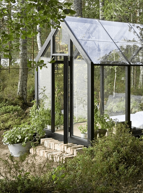 Solar Powered Garden Shed