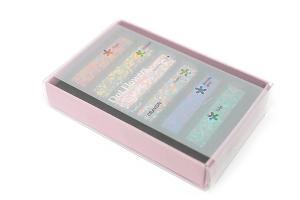 お花畑から生まれた色彩豊かなかわいいクレヨン - Dot Flowers Crayon -