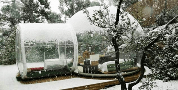 Crystal Bubble Hotel rooms