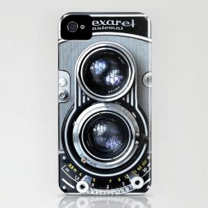 レトロな風合いがたまらない。ヴィンテージカメラ風iPhoneケース - Vintage Cameras -