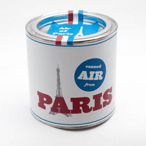 これでいつでもパリ気分!パリの新鮮な空気をあなたにお届け - Original Canned Air -