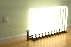 これが本当の暖かい光 - Radiant Floor Lamp -