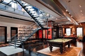 25億円相当の凄過ぎるニューヨークの3階建てアパートメント - Million Three Story Apartment in Tribeca -