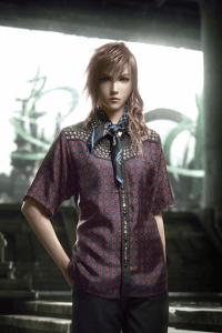 プラダを着た戦士 。ゲームとファッションの融合! - SQUARE ENIX x Prada 2012 Spring Collection -