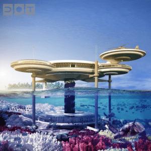 スケールが違いすぎる!未来の世界のような水中ホテル - Stunning Underwater Hotel -