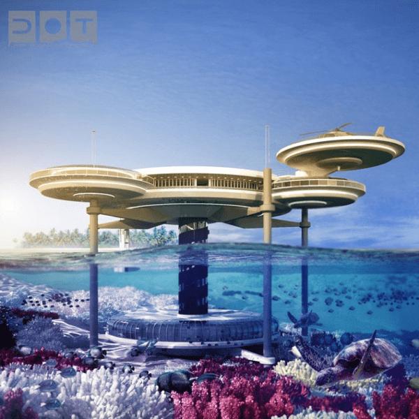 Stunning Underwater Hotel