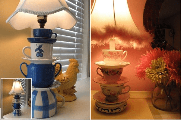 Decorative and Creative Ideas with Cups