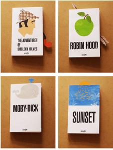 人に見せたくなる!本の表紙で遊ぶ組み合わせのアート - JACKET+BOOKMARK -