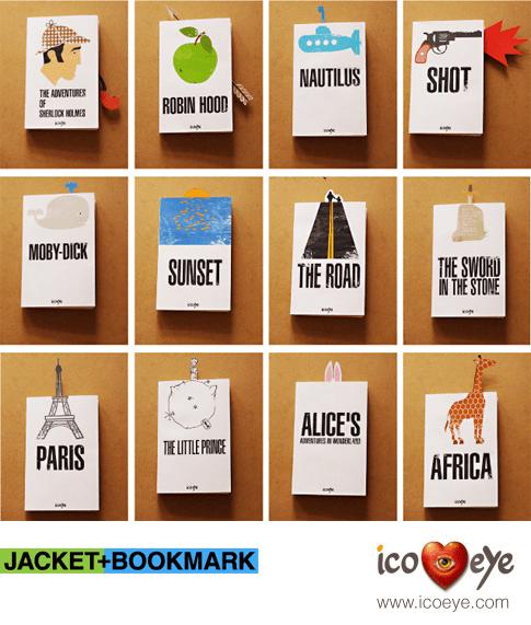 JACKET plus BOOKMARK