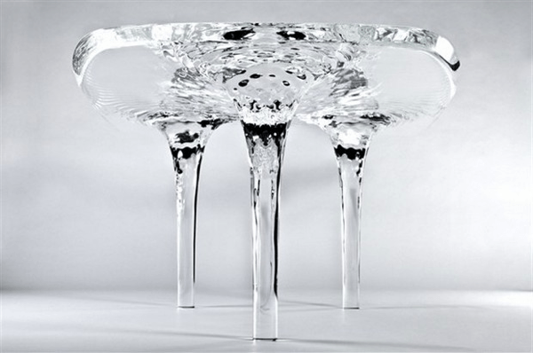 The Liquid Glacial Table