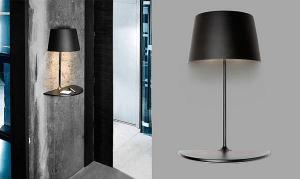浮遊感がいい!シンプルに二役こなす光の灯るテーブル - Lamp and table for your focal point -