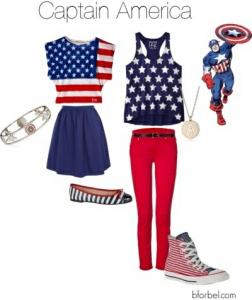 気分はアメリカンヒーローなファッションコーディネート - Avengers Inspired Fashion -