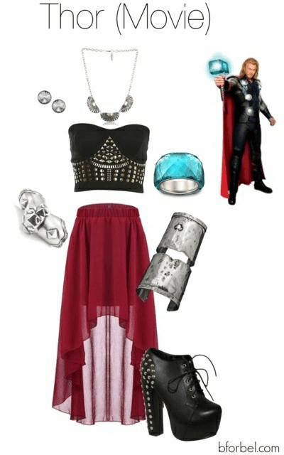 Avengers Inspired Fashion