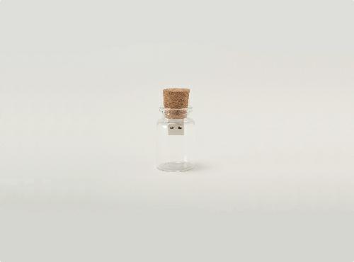 Blank USB memory storage