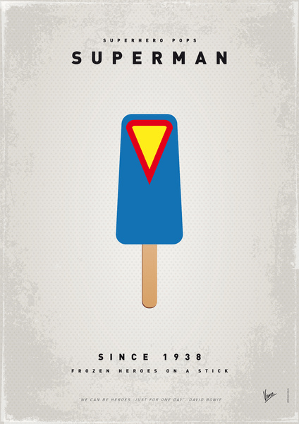 Superhero Ice Pops