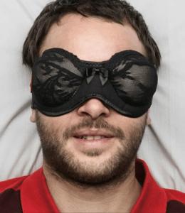 いい夢が見れそうな素敵なアイマスク - The Face Bra  -