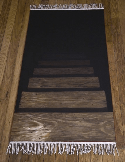 Secret Passage Floor Decal