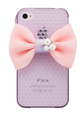 mobile ribbon sticker