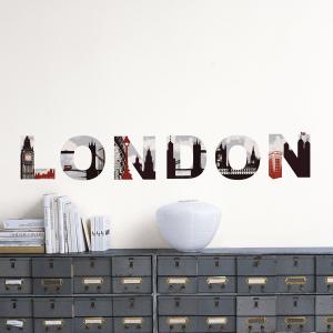 ロンドン気分でオリンピックを盛り上げるウォールステッカー - Home stickers London -