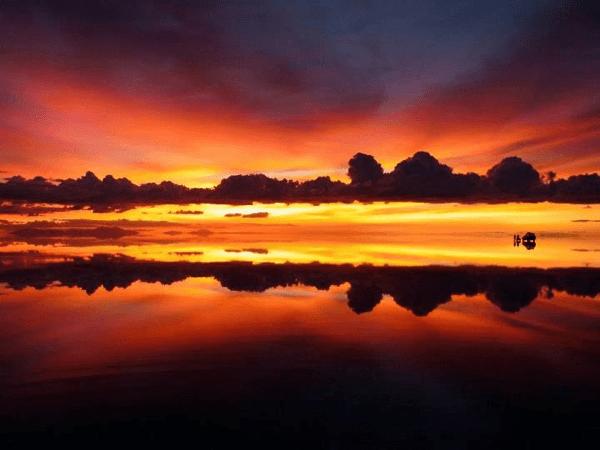 uyuni sunset