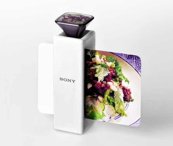 scent capturing postcard printer