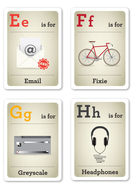 Creative ABC Flash Cards