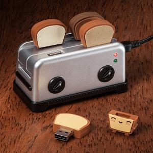 これが本当のアンキパン?トーストとセットでかわいいトースター型USBハブ - Toaster USB Hub -