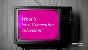 未来のインタラクティブテレビのコンセプト - MetaMirror -