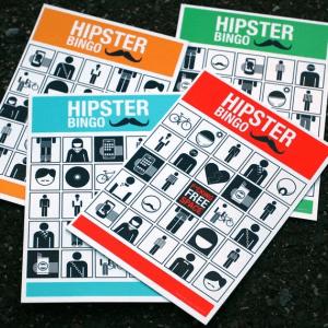 新感覚、リアルタイム発見型ビンゴゲーム - Hipster Bingo -