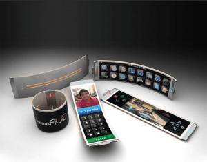 身につけるスマートフォン - Fluid Wearable SmartPhone -