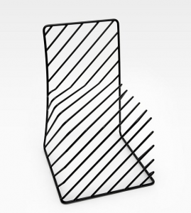 立体感のつかめない不思議な椅子 - 21400mm Chair -
