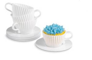 ティーカップ型のカップケーキケース? - Teacup Cupcakes -