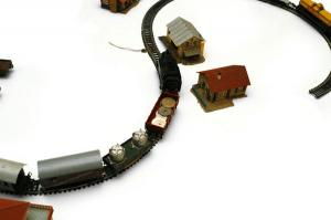 列車の模型で作るフォントセット - Train Set Typography -