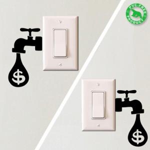 節電をしたくなるエコなステッカー - Eco Reminders -