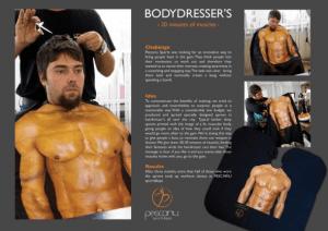 筋肉マッチョになった気分になれる広告 - Pescariu Sports&Spa -