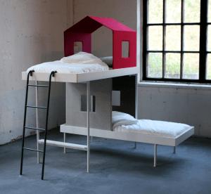 ツリーハウスの用な子供用ベッド - Maja -