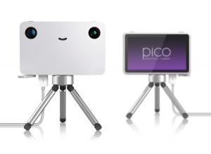 1台2役の小さくてかわいいプロジェクター - Pico : Projector Camera -
