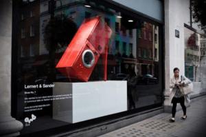 何でもハイヒールなショーウィンドウのオブジェ - Window Installations for Selfridges -