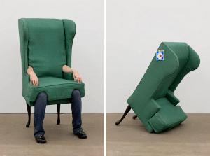 椅子になりたい人のためのイス – Arm Chair -