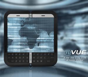 画面を折り畳める携帯 - nVue -