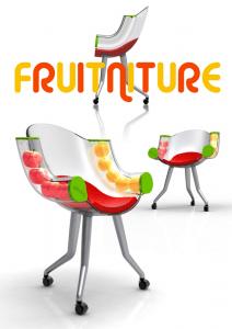 フルーツと椅子の融合 - Fruitniture -