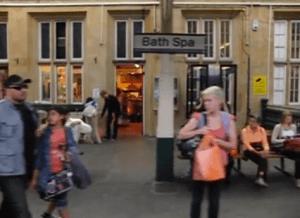 動く電車の中から高速撮影した不思議な映像 - Glide -