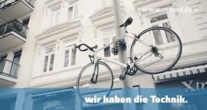 大事な自転車は悪い子の手の届かないところに - Making-Of sicherstes Fahrradschloss -