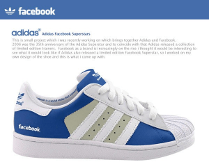 adidasのソーシャルスニーカー?!  - Adidas Facebook And Twitter Shoes -