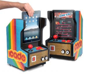 iPadをゲームセンター風に – iPad Arcade Cabinet -