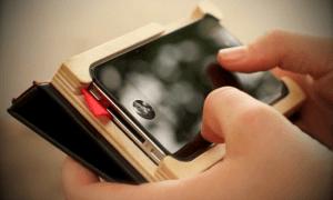 手帳っぽいオシャレiPhoneケース - The Little Black Book & The Case -